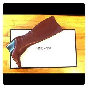 Nine West wedge boot US 8